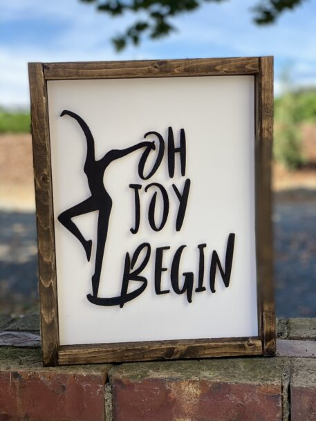 Oh Joy Begin