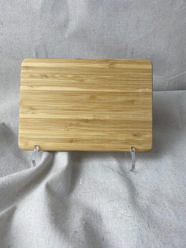 Handwriting recipe custom bamboo 8x5.5