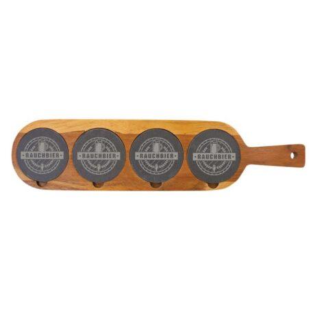 Personalized Beer Flight Coaster set