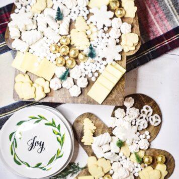 Gingerbread grazing board